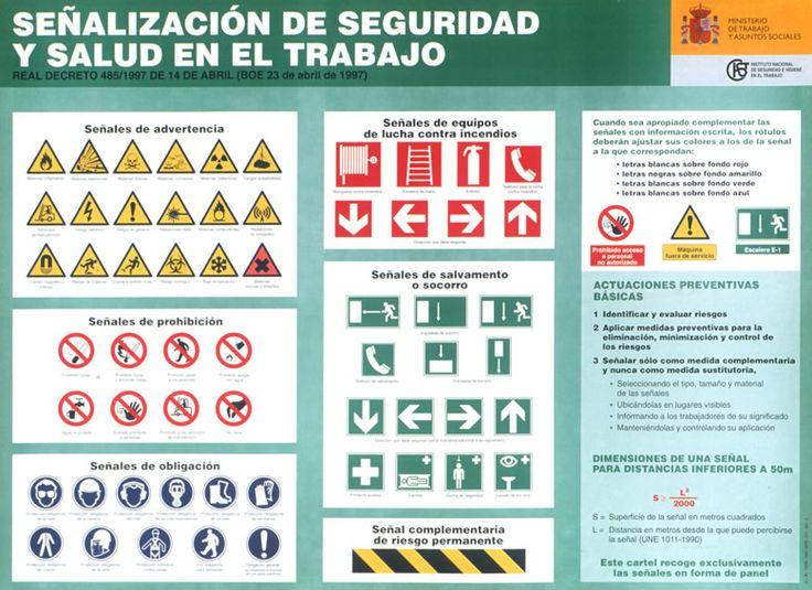 Señales seguridad y salud en el trabajo