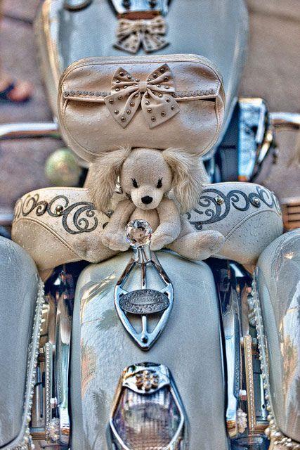 """We love this """"Girlie"""" bike! Shoreline Harley-Davidson  www.shorelinehd.com"""