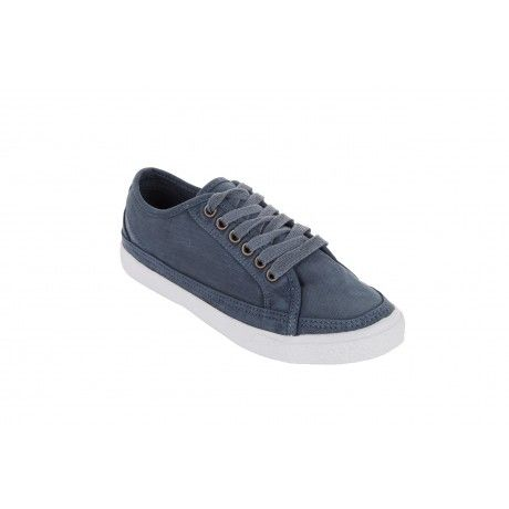 The Old Khaki Demi Shoe is a stylish lightweight canvas lace up sneaker