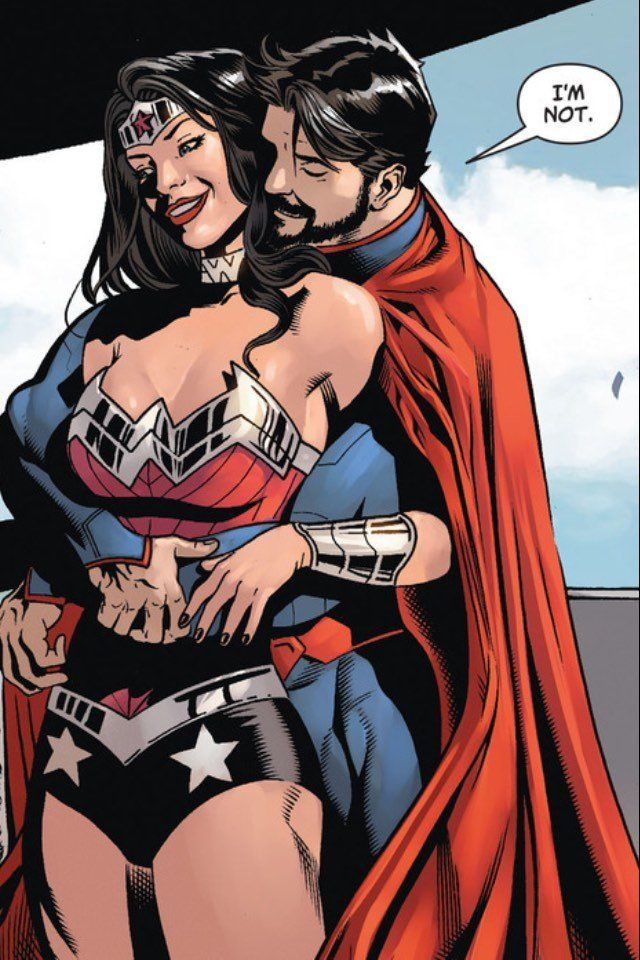 Think, superman and wonder woman having sex porn have