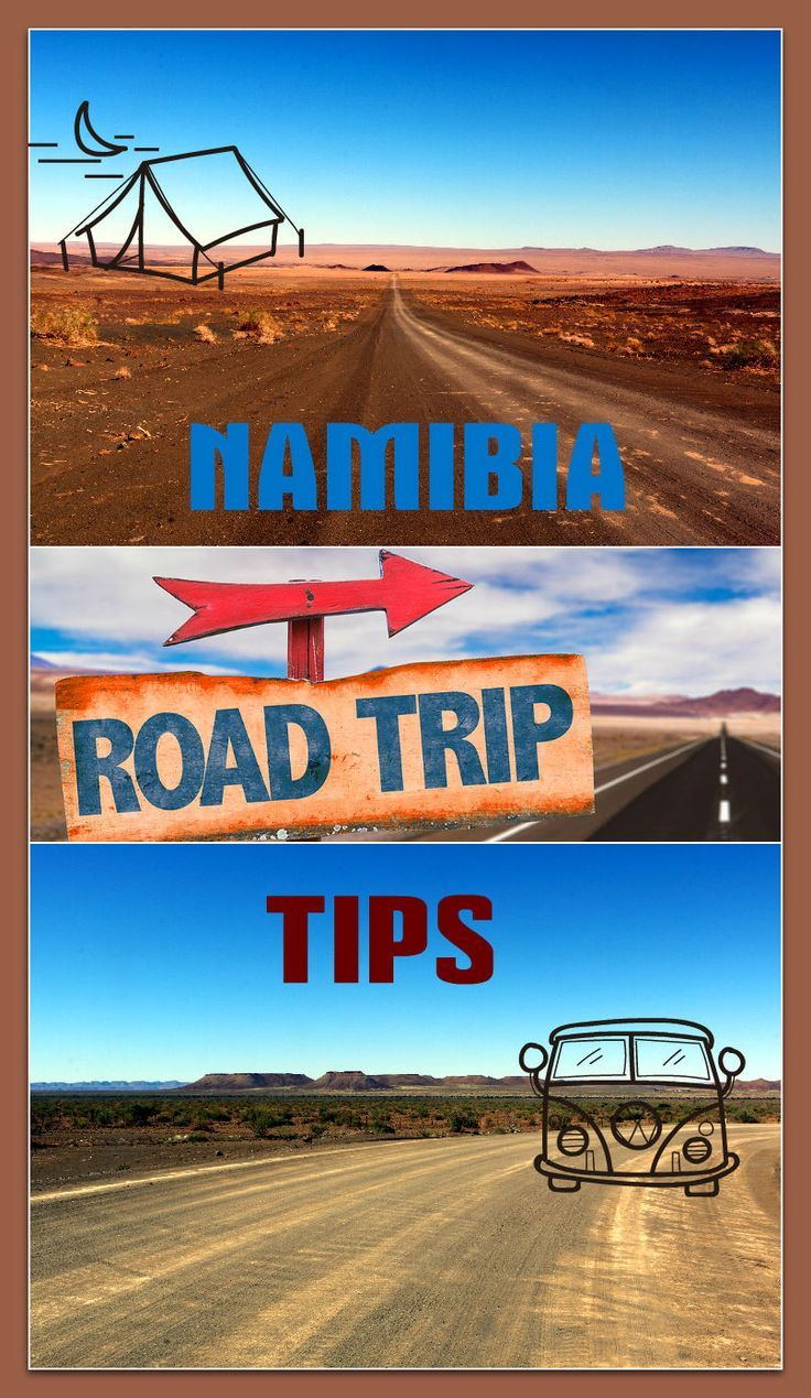 All you need to know to prepare for a road trip in Namibia. Travel in Africa.