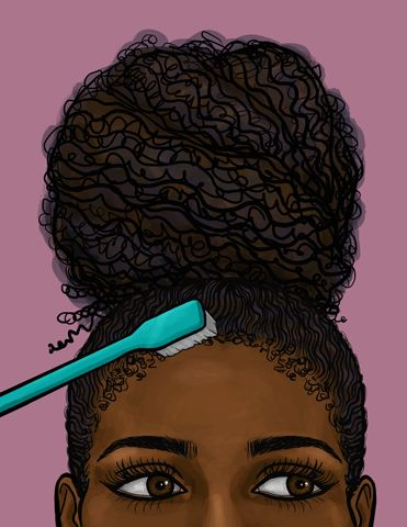 Giphy's Black History Month Tribute - These Black History Month Gifs Perfectly Capture Our Hair Experience