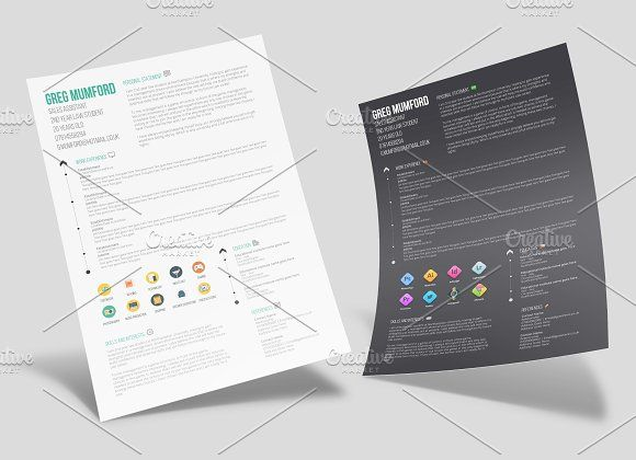 15 best One Page Resume Template images on Pinterest Resume - one page resume or two
