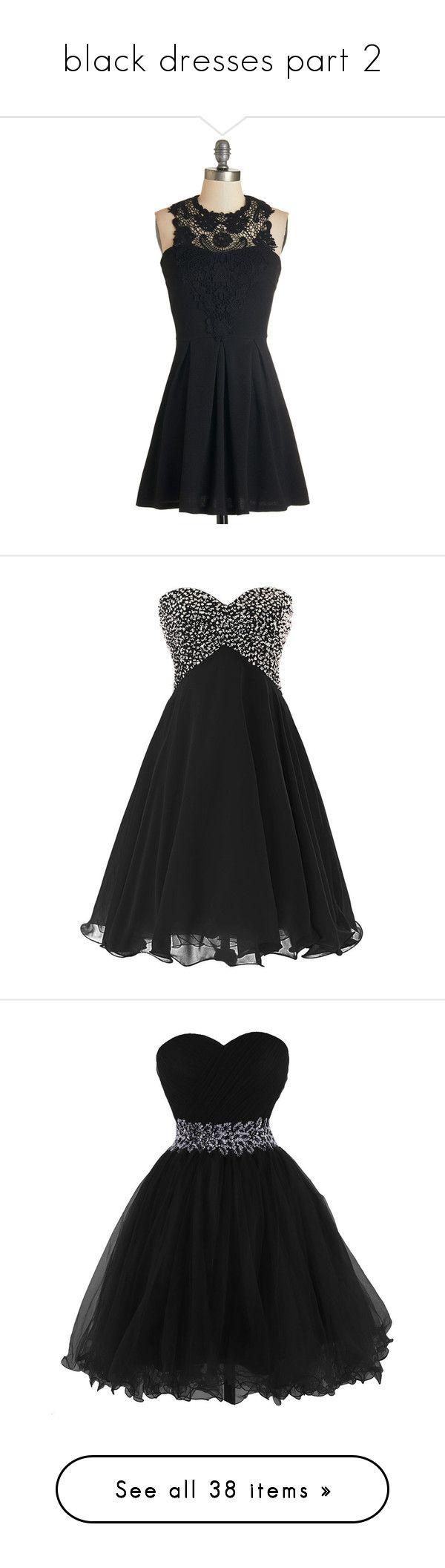 Black dress halter neck -  Black Dresses Part 2 By Megsjessd99 Liked On Polyvore Featuring Dresses Black