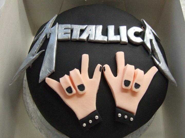 Metallica Chocolate Butter Cake #METALLICA