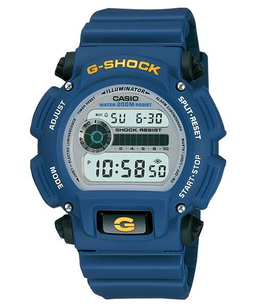 Cheap Blue G-Shock DW-9052-2V Watch
