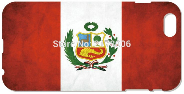 2016 Printed Peru Flag Cover For iphone 5 5S SE 5C 6 6S 7 Plus Touch 5 6 For Samsung Galaxy A3 A5 A7 J1 J2 J3 J5 J7 Phone Case