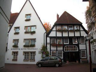 Wallhalla hotel, Osnabruck, Germany