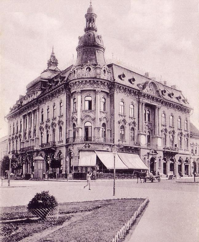 Cluj - Hotel NEW YORK - interbelica