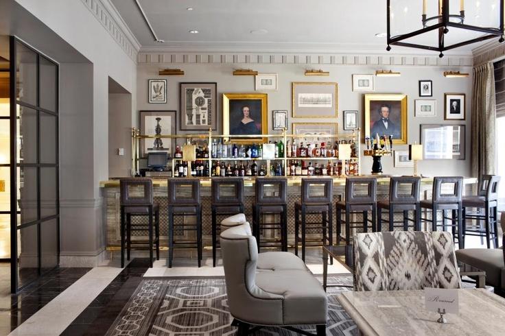 Lobby bar at The Madison hotel in Washington D.C.