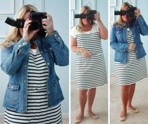 Gap Striped Dress | What I Wore Wednesday #57 - live. laugh. rowe