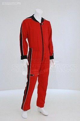 Skytracs Red-Black Freefly Suit Jumpsuit (L) Skydiving Suit Jumpsuits