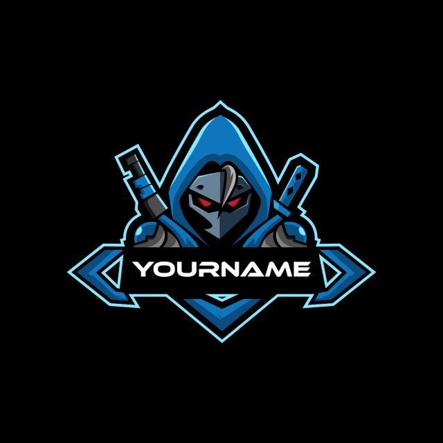 Blue Samurai Esports Logo For Mascot Gaming Esports Logo Logo Design Inspiration Graphics Team Logo Design
