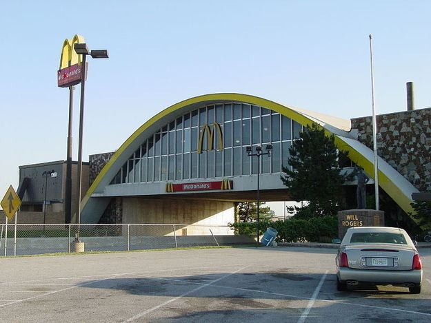 11. Oklahoma is home to the world's second largest McDonald's.