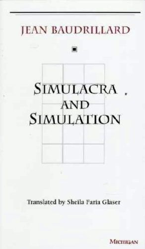 "Simulacra and Simulation (Simulacres et Simulation in French), published in 1981, is a philosophical treatise by Jean Baudrillard. The Matrix makes many connections to Simulacra and Simulation. Neo is seen with a copy of Simulacra and Simulation at the beginning of The Matrix. He uses the hollowed book as a hiding place for cash and his important computer files. Neo's hollowed copy of the book has the chapter ""On Nihilism"" in the middle, not at the end of the book, where it is in reality..."