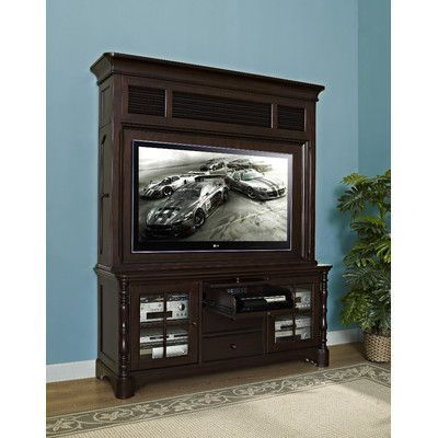 Fairfax Home Collections Barton Park TV Stand Finish: Vintage Malbec