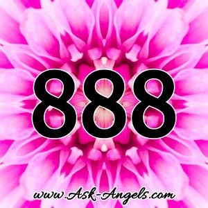 By taking a quick look at the number 888 visually to start, it's perfectly balanced, and it reads the same forward, backwards and even upside down. This may seem inconsequential, but really it's in alignment with the meaning of 888. Balance! 888 calls for balance in all areas of life including home, work, lifestyle, healing,