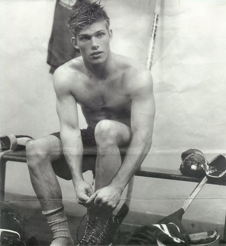 Chris Carmack by Bruce Weber for Abercrombie & Fitch (Fall 2000)