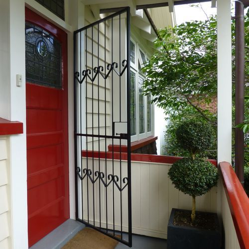 fancy fly screen security doors - Google Search
