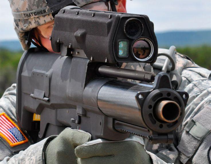 Military Heckler & Koch 25 mm grenade launcher bad ass