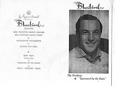 BLUEBIRD STOCKINGS ?1956 - Gene Kelly, Creative Genius