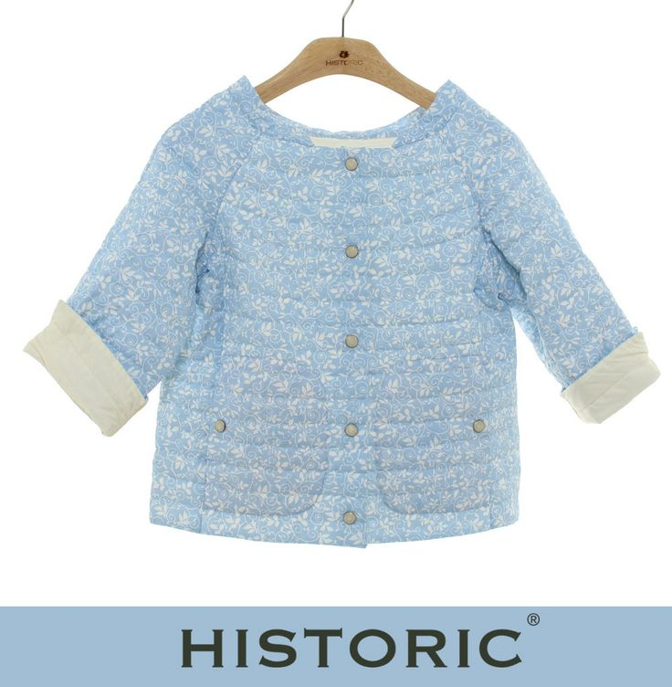 Giacca reversibile: da un lato tessuto in cotone a fantasia e dall'altro nylon traspirante effetto seta, Frangipane jacket è 2 capi in 1: per non avere nessun dubbio su cosa indossare!  http://historic-brand.com/shop/historic-donna/frangipane-jacket-5/ #historic #womenfashion #modadonna #modaprimaveraestate