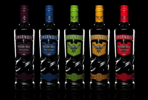 Smirnoff Bottles, via Flickr.