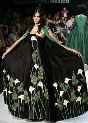Vestidos mexicanos para dama | Vestidos para fiesta