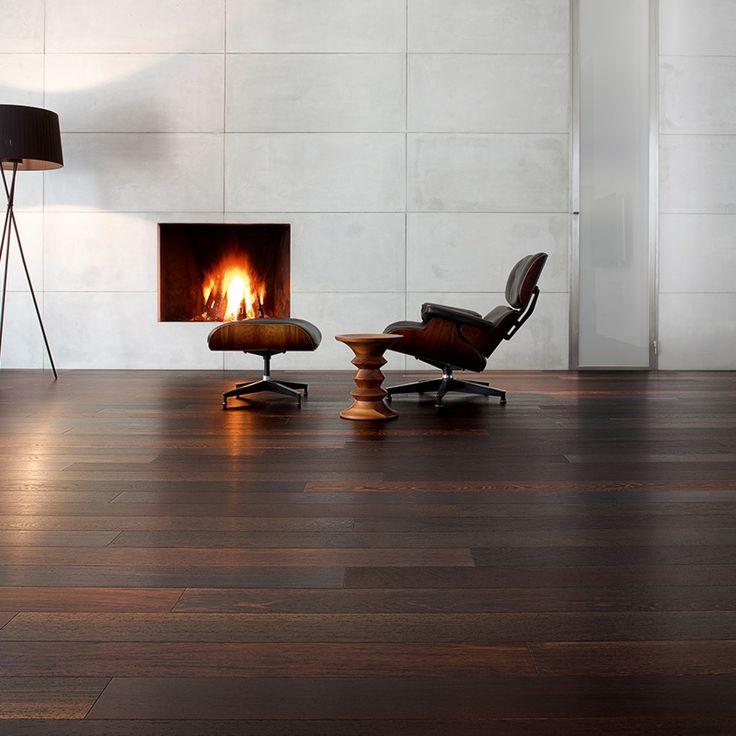 Wengé parket | donkere vloer | stijlvolle houten vloer | geolied parket | exotisch hout