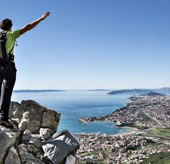 Things to do Split Croatia. Trekking Mosor mountain. Check AdventureTickets.nl