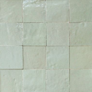 #1062 Very Light Gray Zellige, Moroccan glazed tiles in a wide range of pearlised colours. #zoinjenieuwehuis