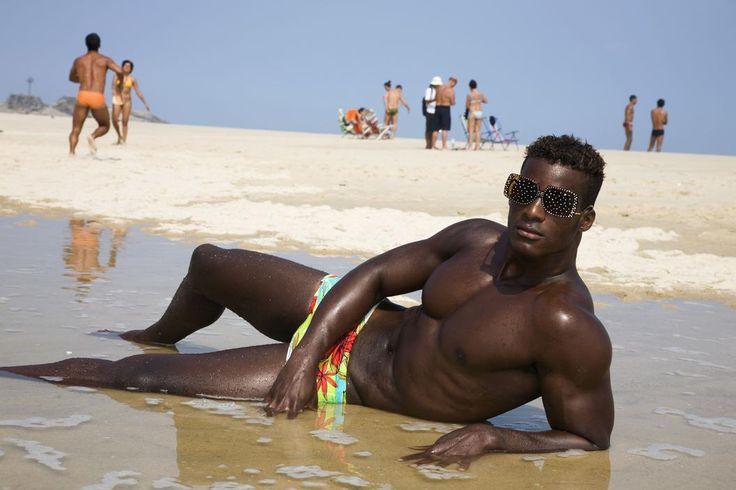 Martin Parr. Brazil, Rio de Janeiro, 2007, Sunglasses fashion shoot for Velvet magazine.