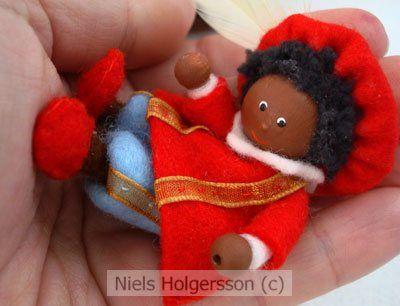 Felted Zwarte Piet
