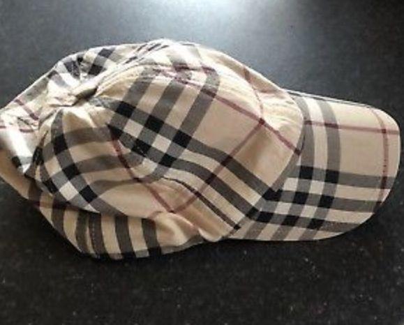 FOR SALE: Vintage Burberry cap.