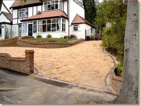 Image result for driveway on a slope