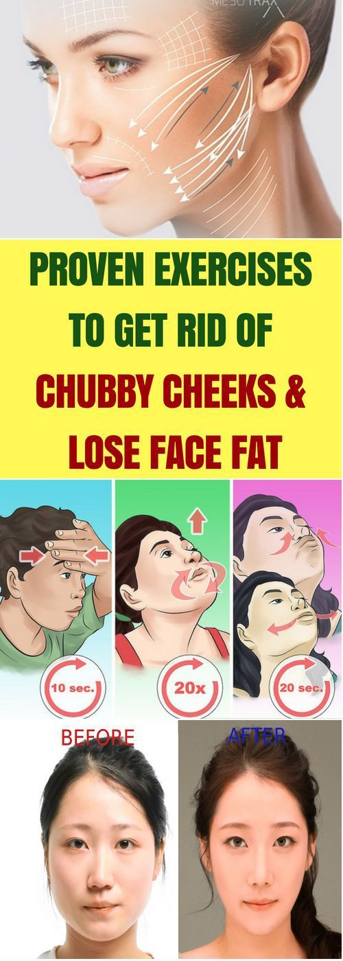 Party get rid of a chubby face sur