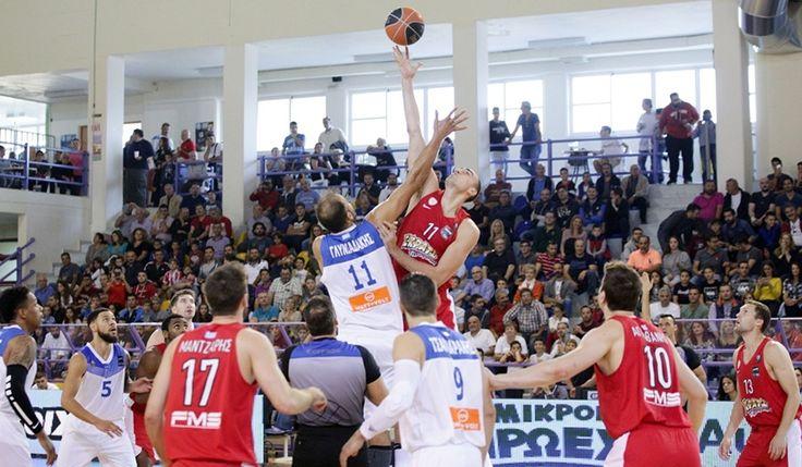 Κύμη-Ολυμπιακός 23-43 στο ημίχρονο! Σε μεγάλη μέρα όλη η ομάδα κι ένας Τόμπσον άχαστος! #Red_White #Kymi #Olympiacos #BasketLeague