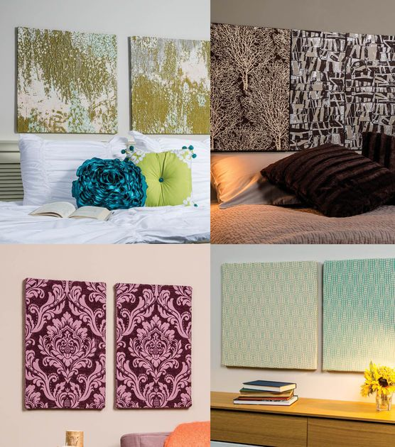 Fabric Panels Wall Art Business : Best images about tiles headboard on pinterest