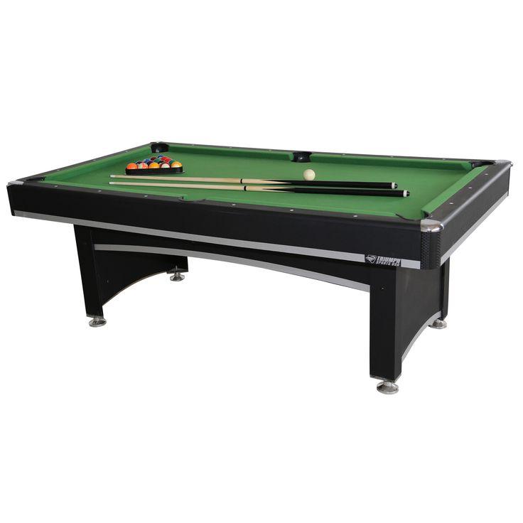 Triumph Sports USA Phoenix Billiard Table with Table Tennis Top
