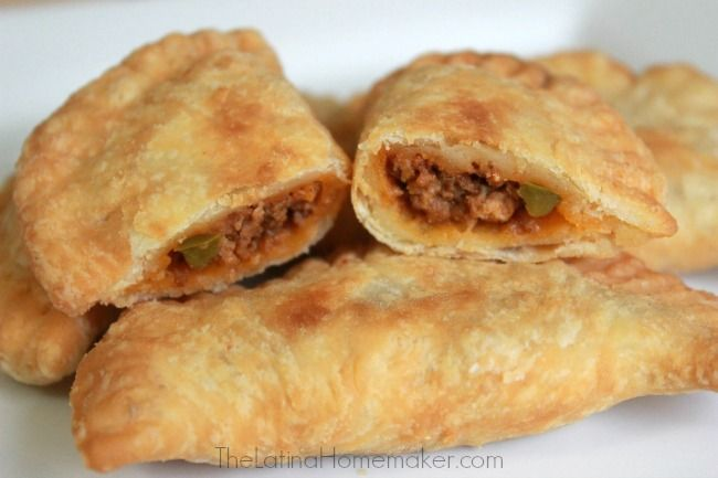 Mini Empanadillas (Puerto Rican Beef Turnovers). This is an authentic recipe of Puerto Rican Beef Turnovers. They are full of flavor with a flaky outside.