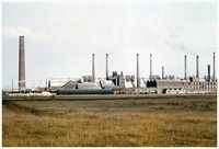 Een serie van 5 foto's betreffende de Zinkfabriek Budel  Auteur: niet vermeld - 1960