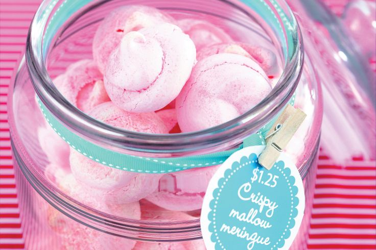Everyone deserves a little treat with their morning or afternoon cuppa, and these little meringues are perfect for everyone.