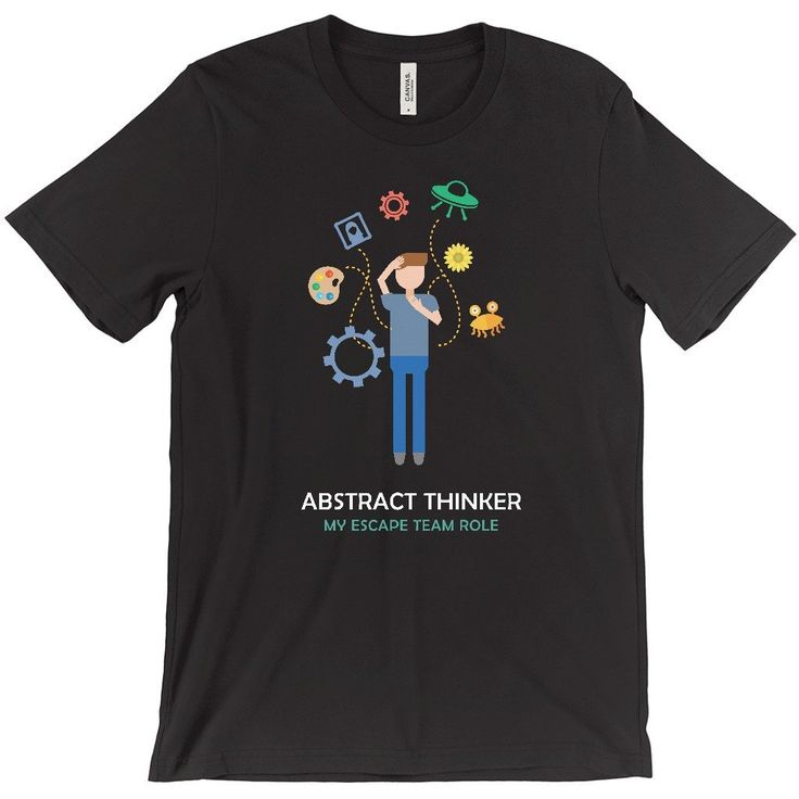 """Abstract Thinker"" Men's Tshirt"