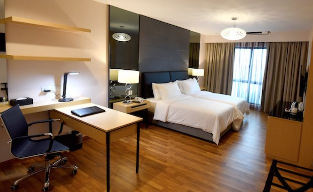 Heritage Deluxe Room Starts from RM127+  – 290 sq ft – Minimalist bath room design – #Classic #style featured #suite – #Hollywood #twin #bed – #Master #room including independent bath room and study area – 32″ Flat panel televisions – Complimentary #Wireless #Internet  #imperialheritage #hotel #melaka