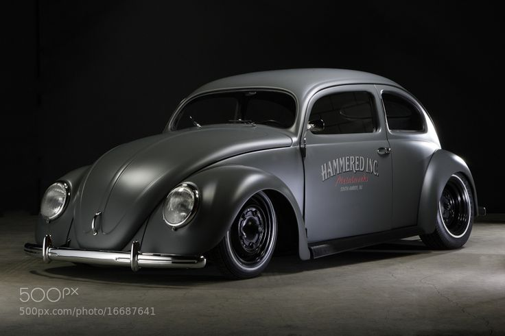 "classic-in-black: "" VW Käfer Top Chop 1954 by StefanBau Follow us [Get more pictures like this in classic-in-black.tumblr.com] Credits """