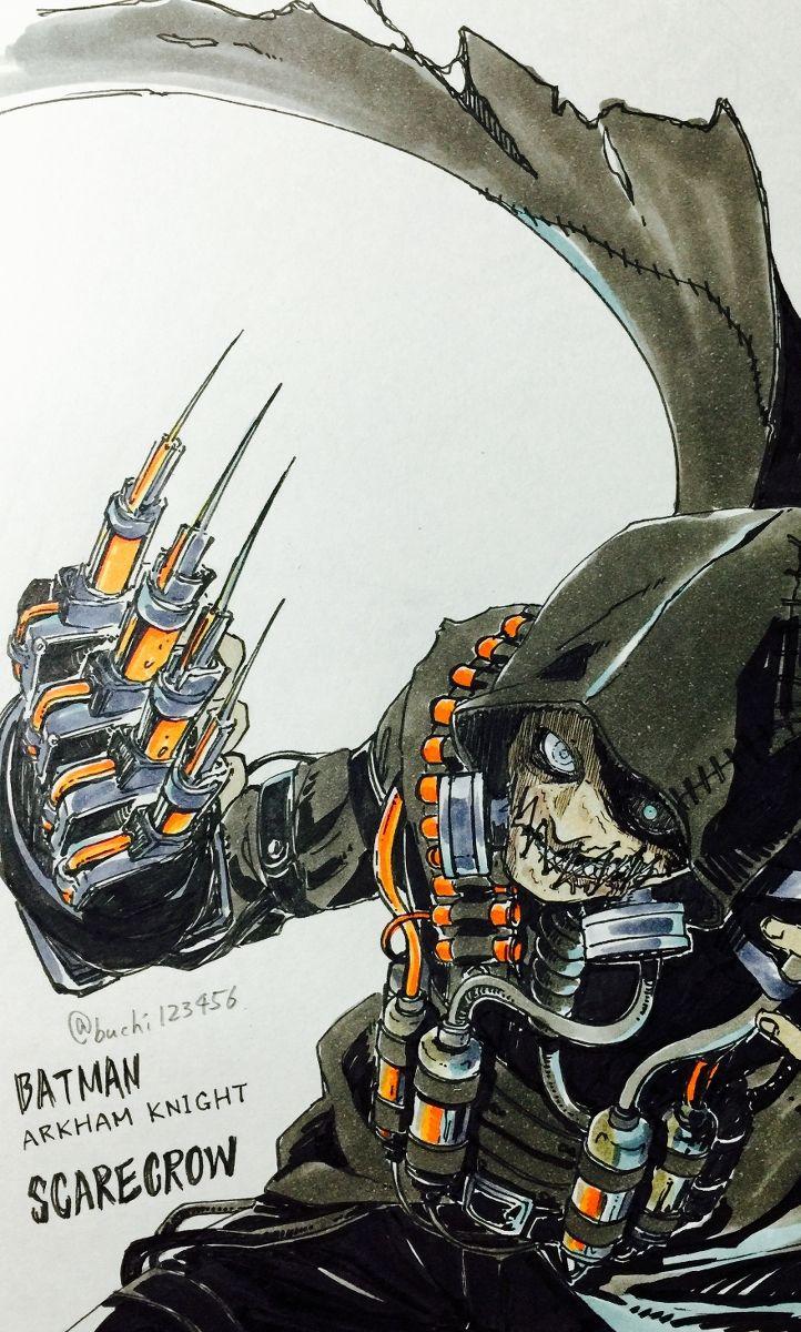 Scarecrow - Batman Arkham Knight
