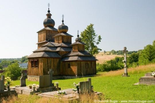 Slovakia, Dobroslava - Wooden church