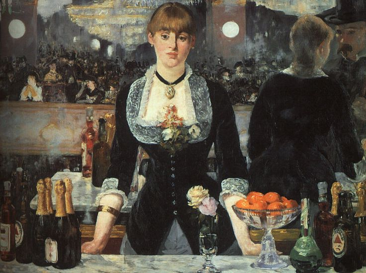 Manet, Bar at the Folies Bergeres, The Courtauld Gallery, London