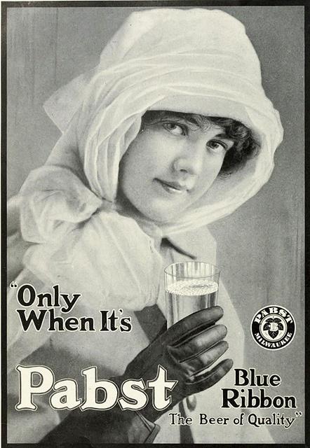 Pabst Blue Ribbon (1913).