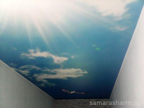 Самара Шарм   Натяжные потолки с фотопечатью. Мы предлагаем фотопечать на натяжных потолках в Самаре.